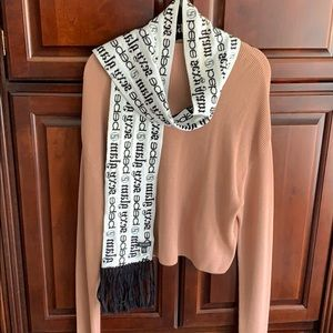 bebe Accessories - BEBE reversible scarf